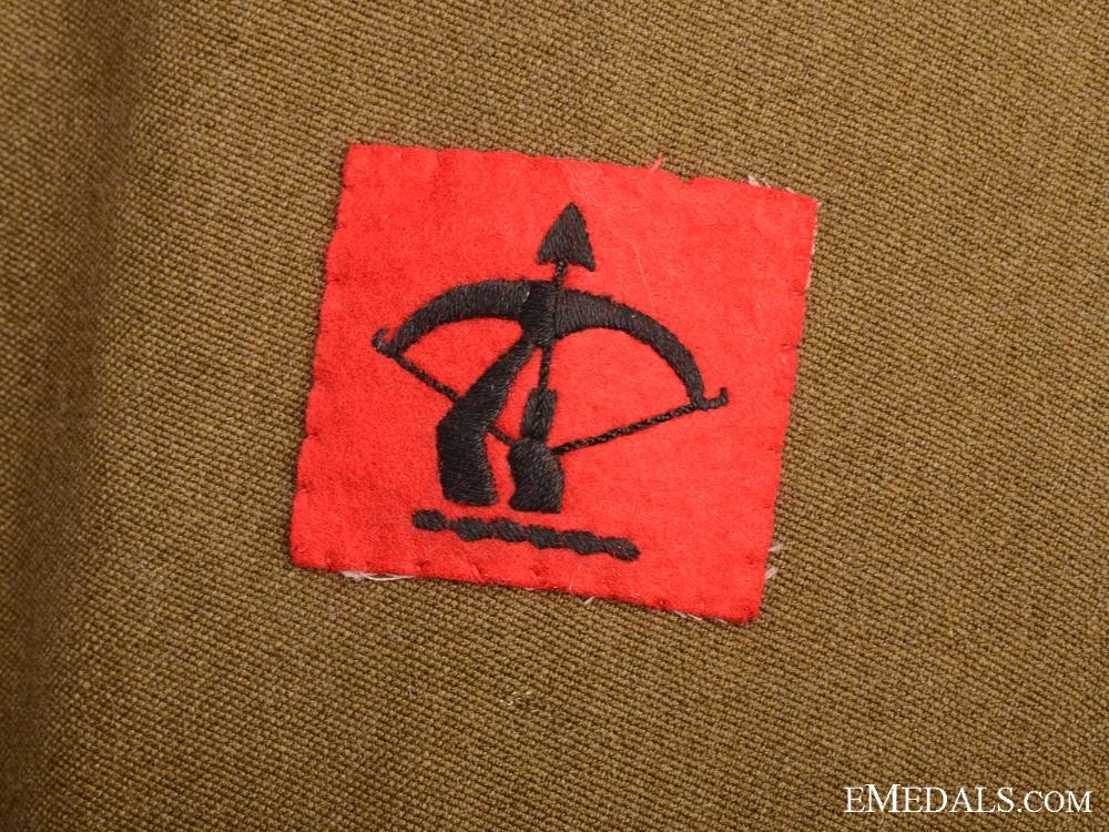 WWII Royal Artillery 2nd Lieutenant Tunic