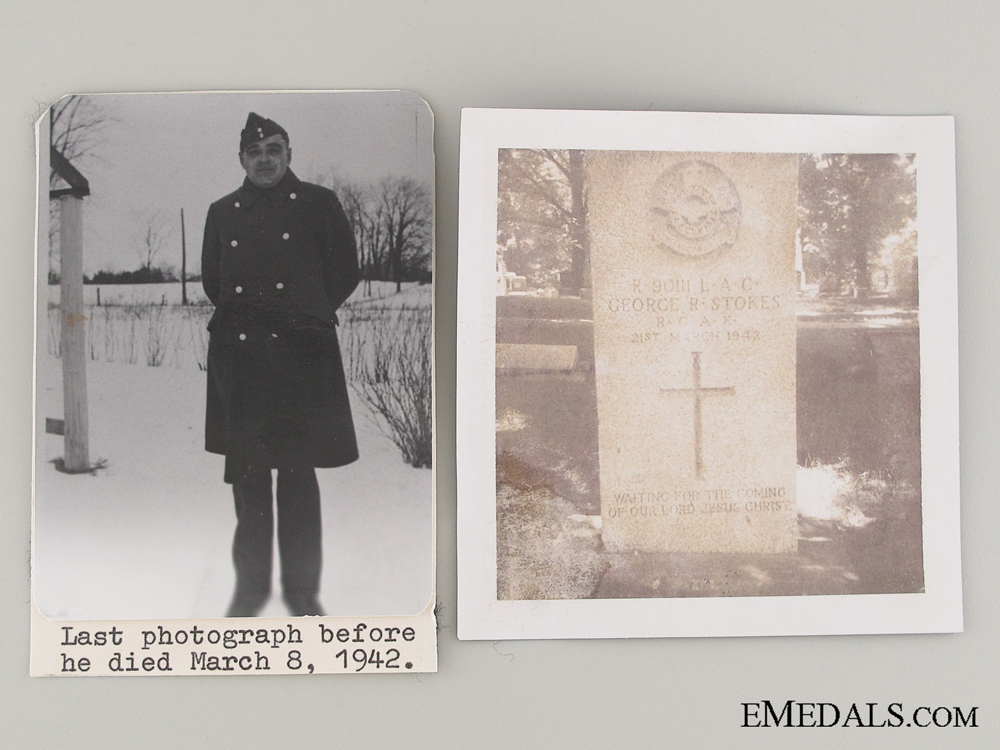 WWII Canadian Memorial Cross Trio
