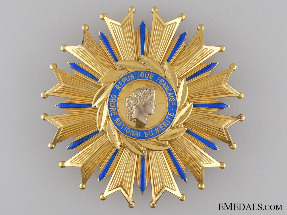 The French National Order of Merit; Grand Cross
