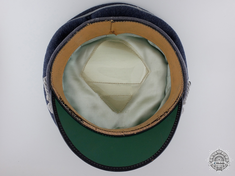 A Luftwaffe Officer's Visor by Erel consignment #6