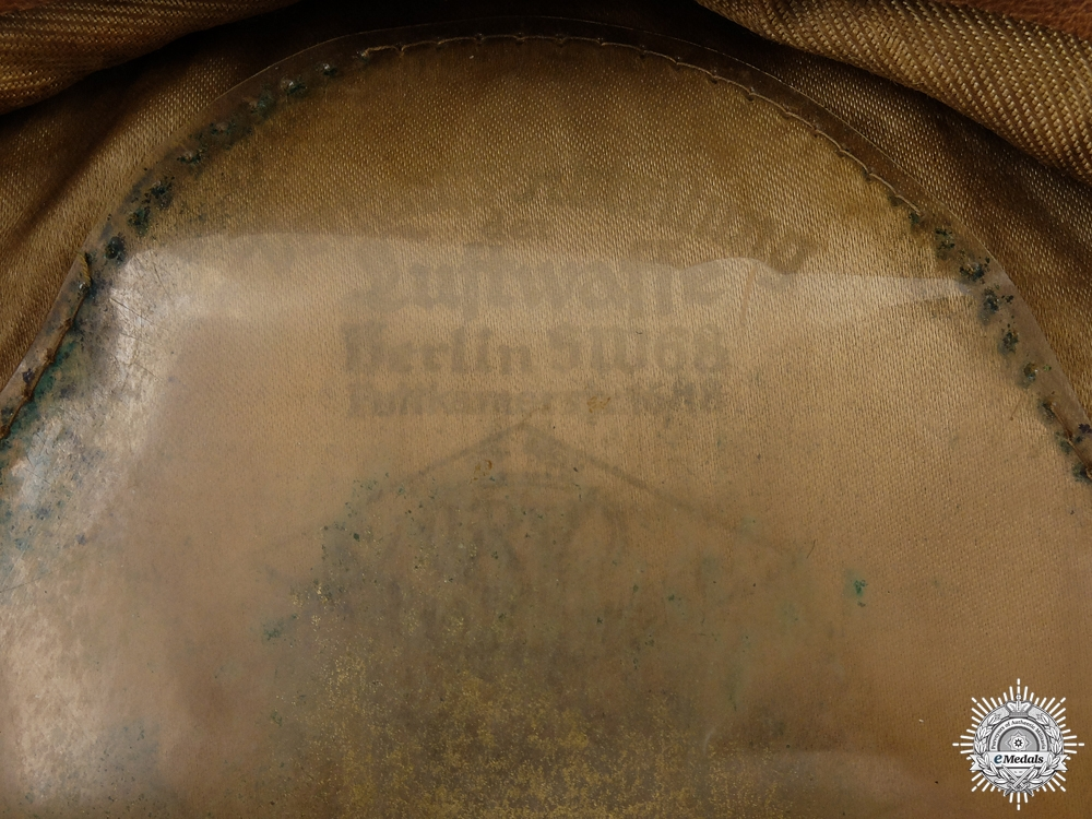 An Early Luftwaffe Officer's Visor Cap by Erel   Consignment #6