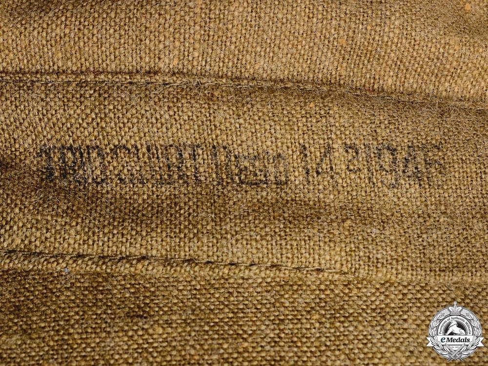 A Second World War Canadian Field Shirt; Winter Version  Consignment #16