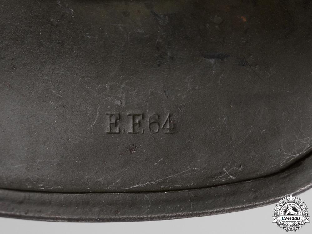 An M35 Double Decal Army (Heer) Helmet by  Emaillerwerk AG, Fulda3800