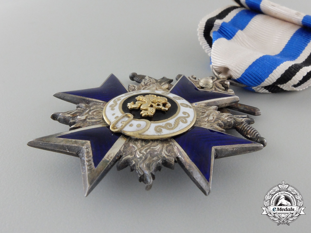 A Fine Bavarian Military Merit Order; 4th Class by Gebrüder Hemmerle