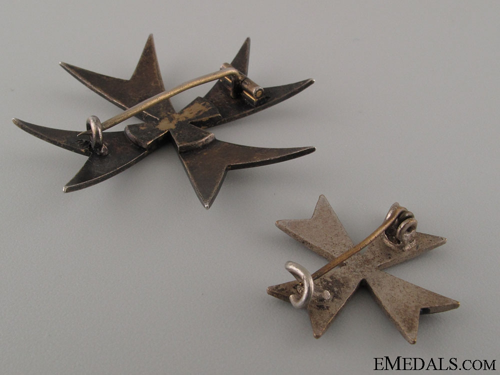 Two Freikorps Badges