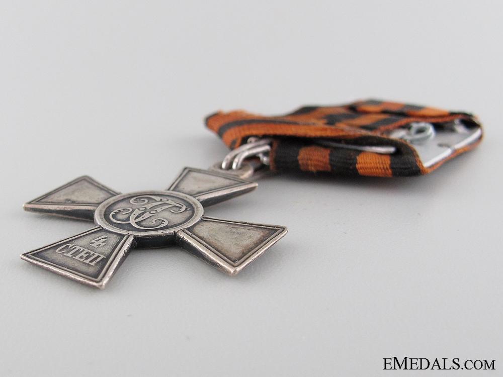 A First War Canadian St.George Cross Recipient