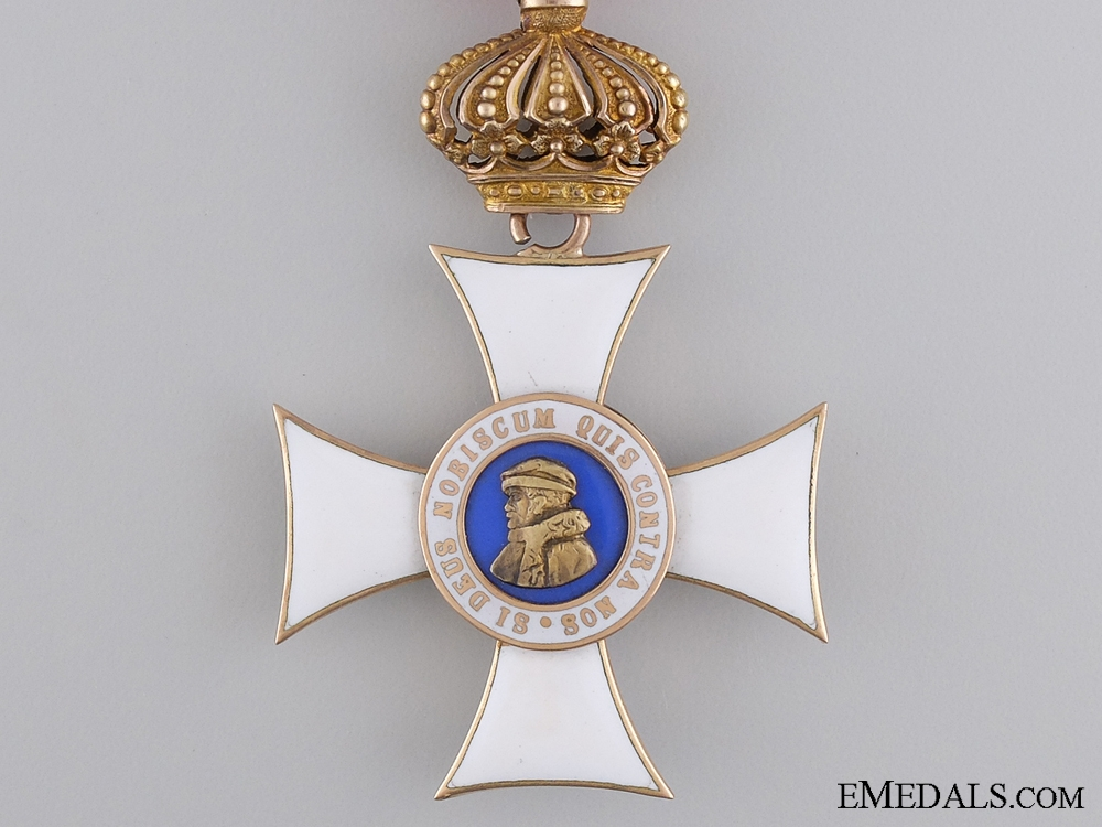 Order of Philip the Brave with Crown Suspension; Knights Cross First Class