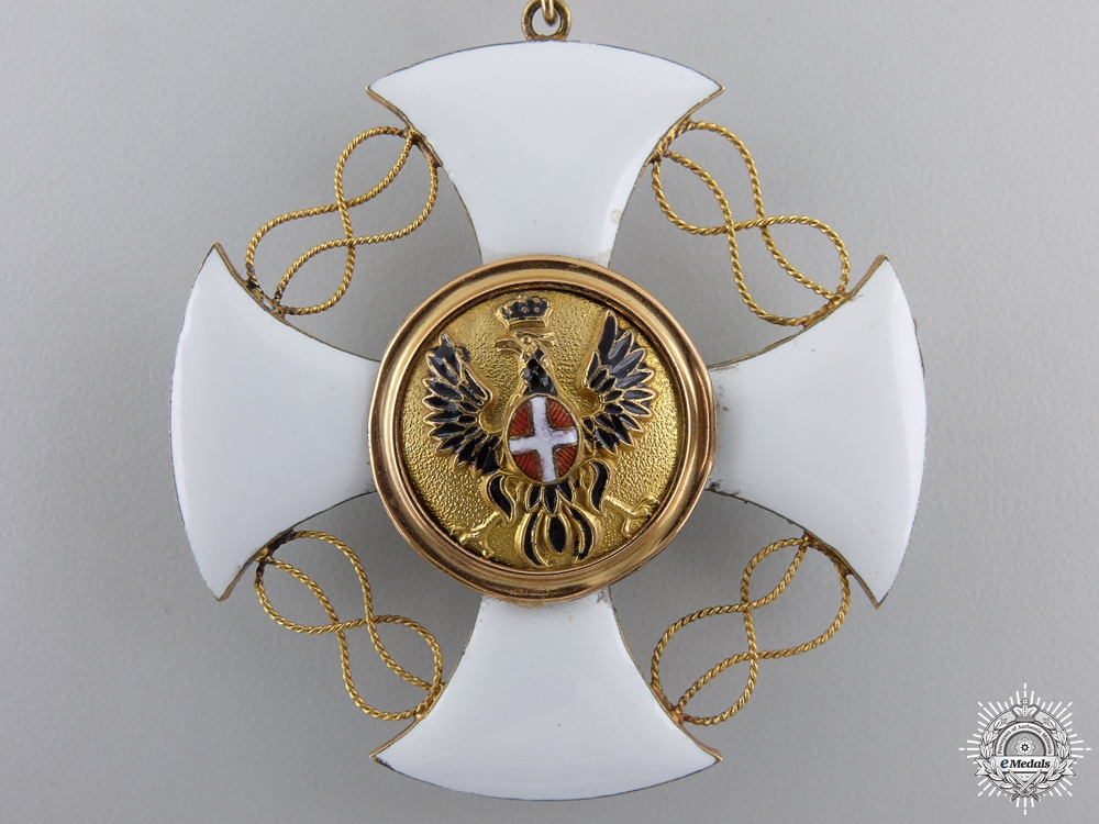 An Italian Order of the Crown; Grand Cross Set