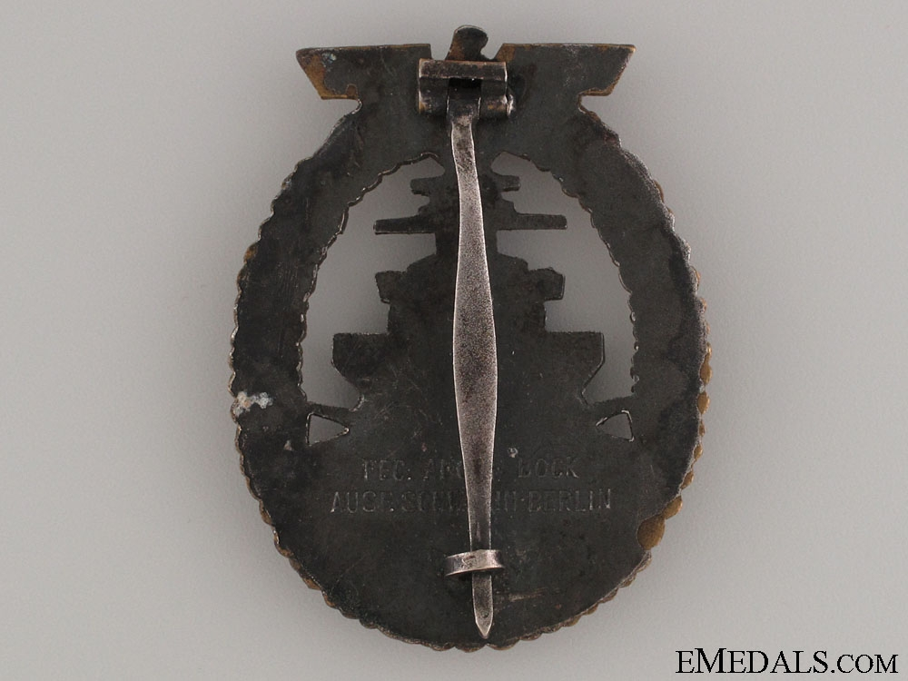 High Seas Fleet Badge by Schwerin