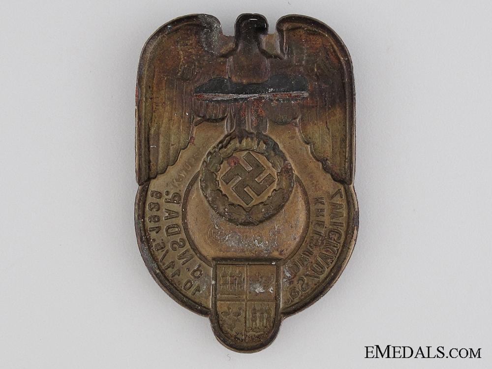 1939 NSDAP Zwickau/Sa Tinnie
