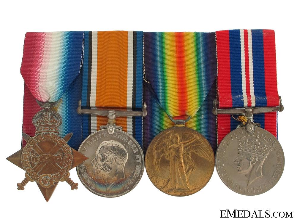 Royal Navy Group to Lt. G.E.Harvey