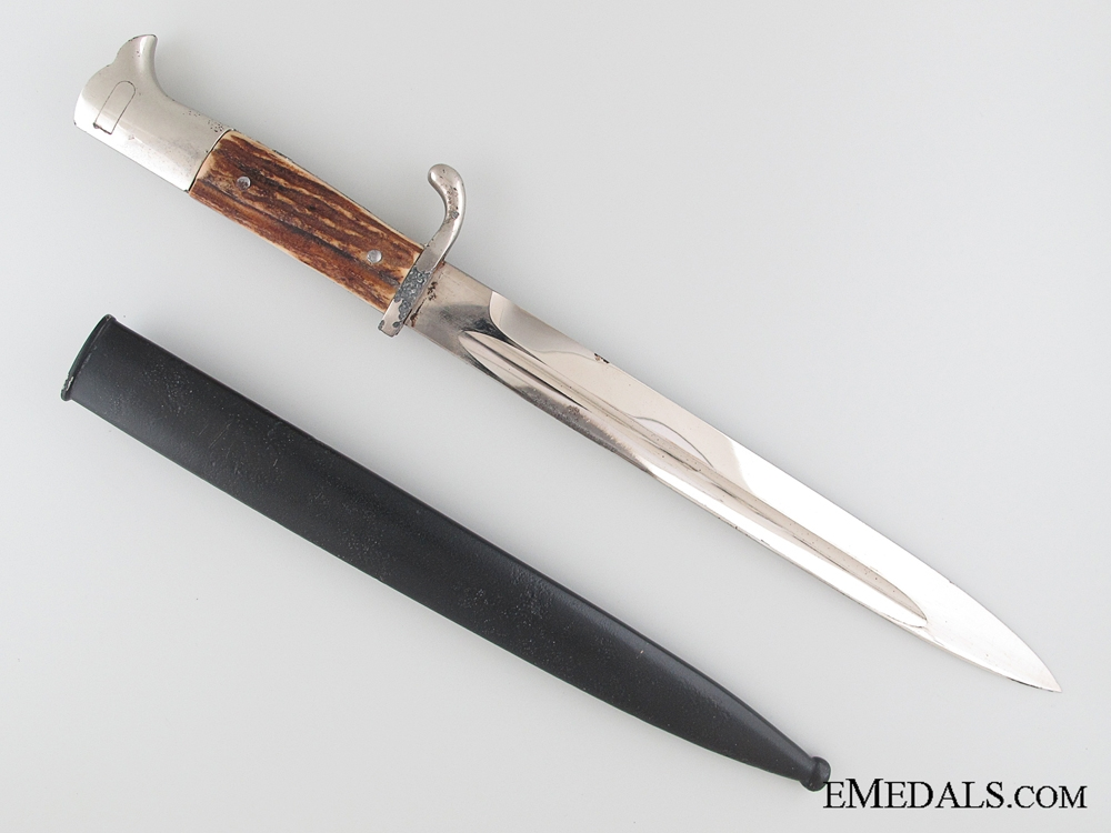 Landesschützen Bataillon 605 Dedicated Long Bayonet