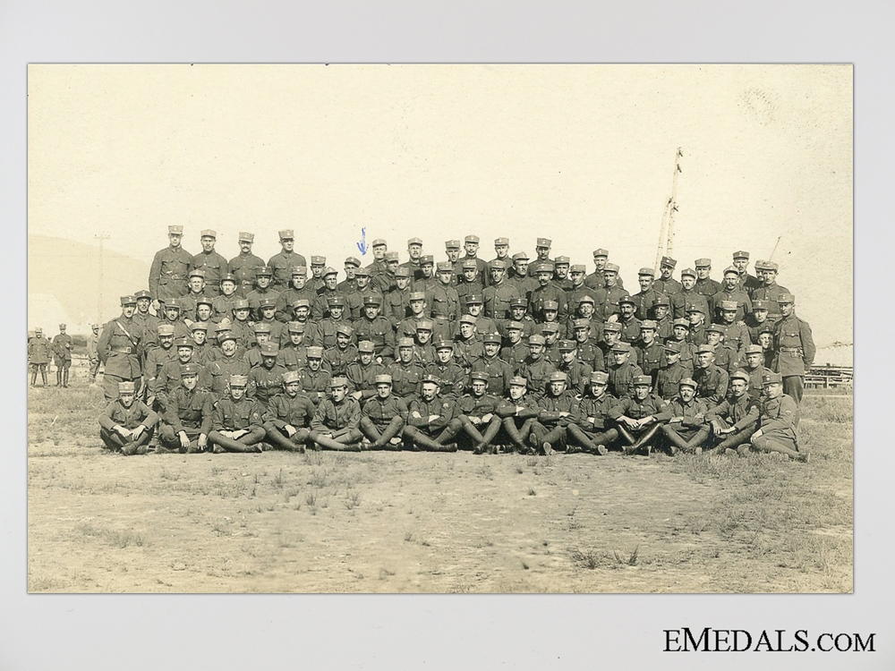 A Rare Great War D.C.M. Group Attributed to a Czech Legionnaire