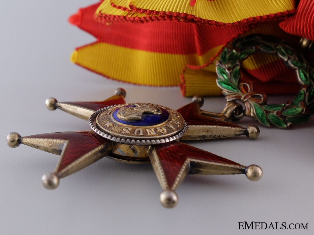 An Order of Saint Gregory the Great; Grand Cross by Tanfani & Bertarelli
