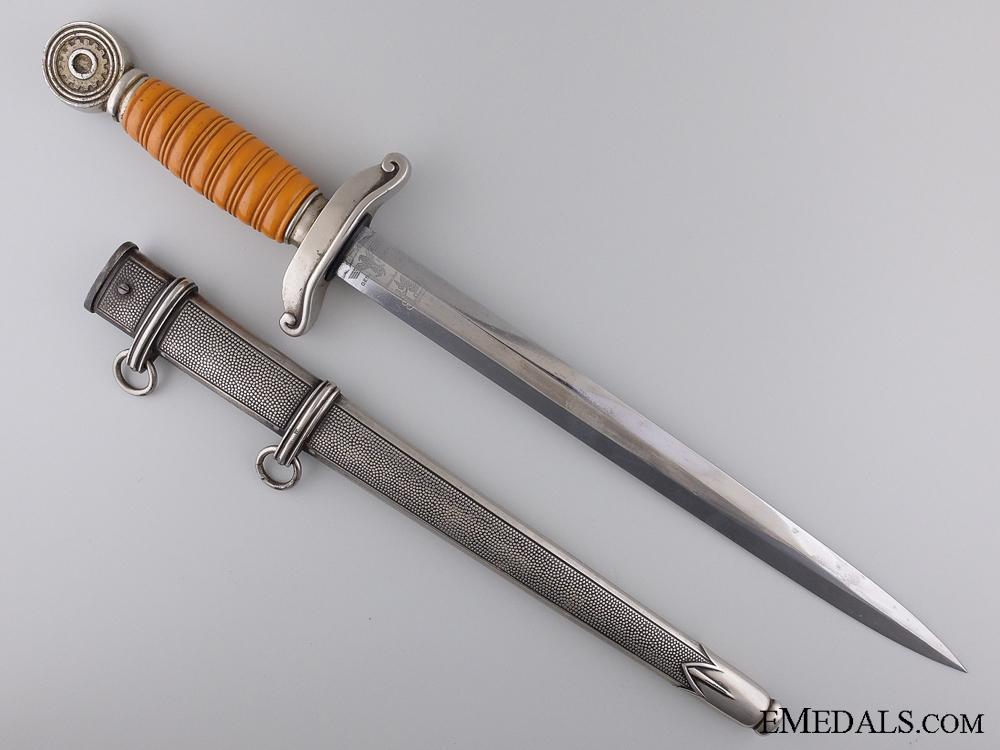 A TENO (Technische Nothilfe) Leader's Dagger by Eickhorn, Solingen