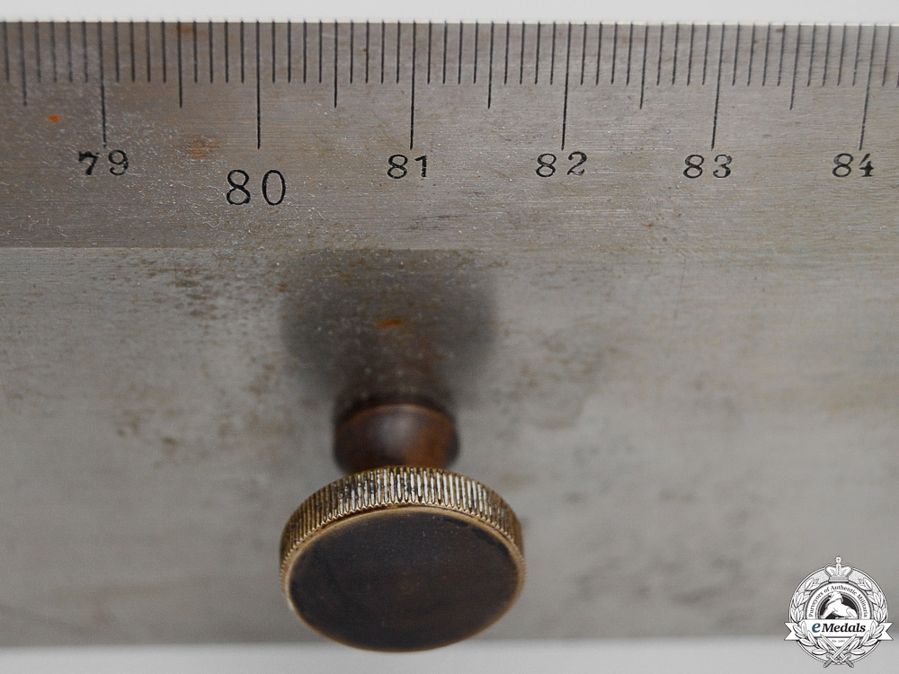 A Kriegsmarine Steel Metre Rule by Ed.Sprenger