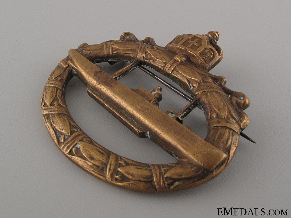 WWI Submarine Badge