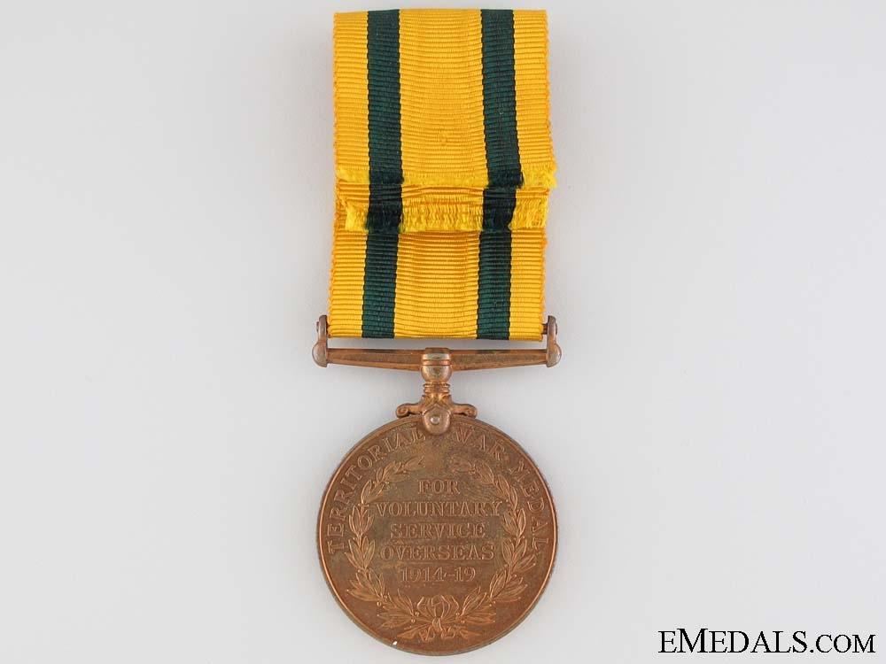 Territorial Force War Medal 1914-1919