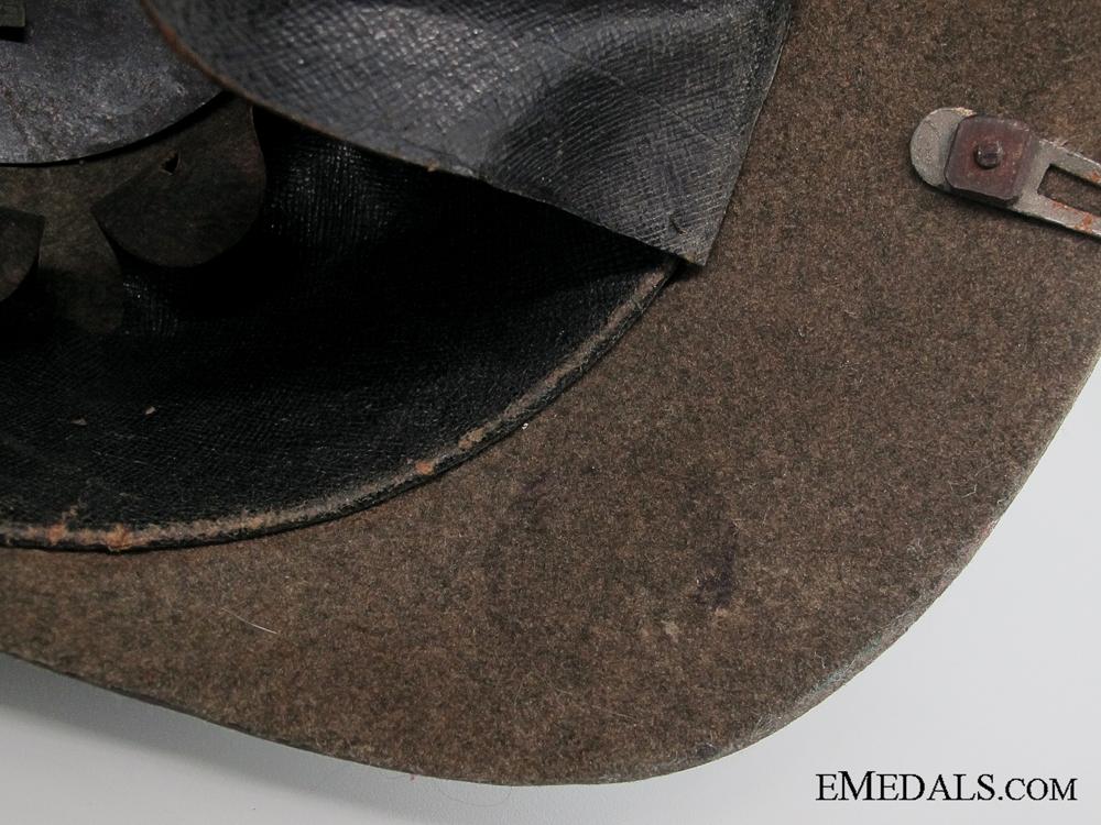 Imperial Prussian Ersatz Felt Pickelhaube1600