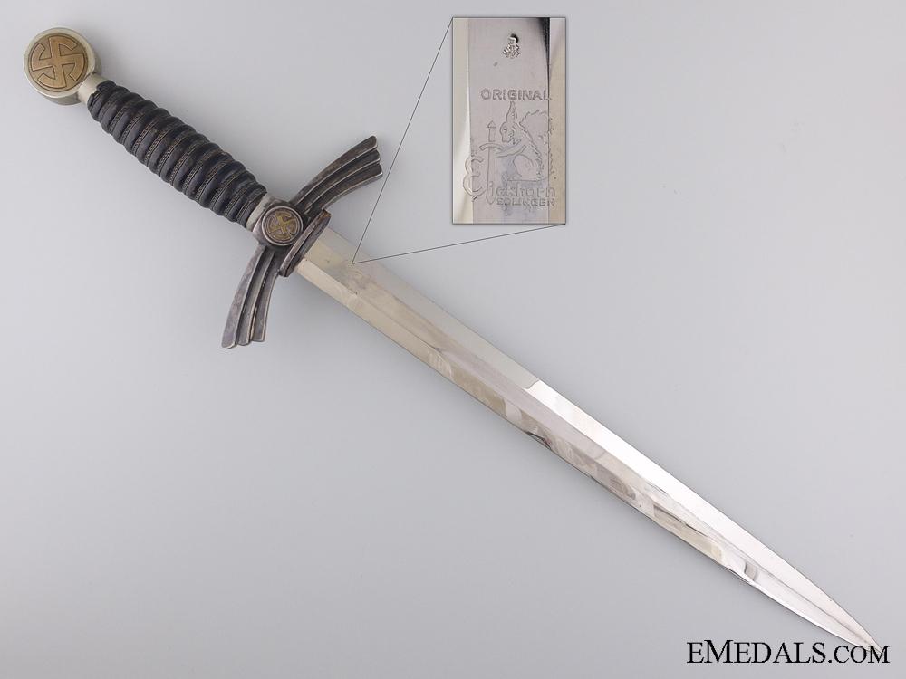 A First Pattern Luftwaffe Dagger by Carl Eickhorn, Solingen