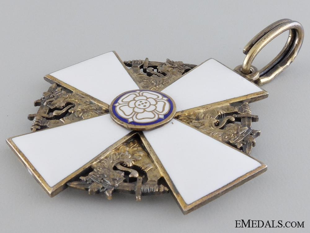 The Order of the White Rose of Finland; Commander First Class