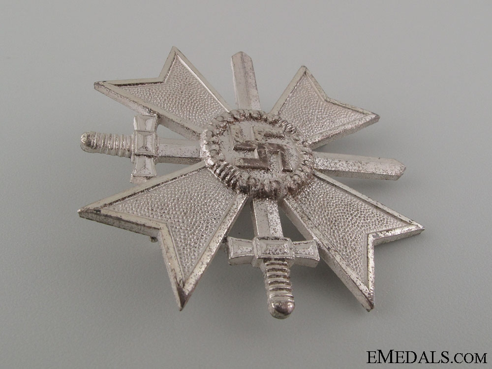 War Merit Cross 1st Class with Swords - Marked