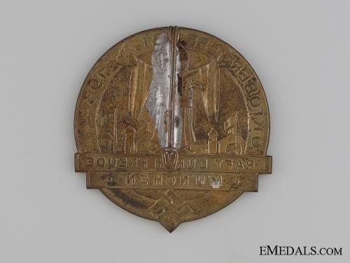 1934 München Oktoberfest Badge