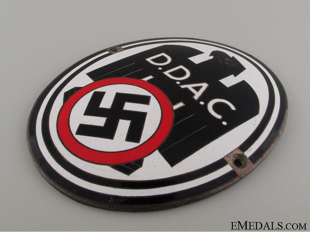 D.D.A.C. Automobile Plaque