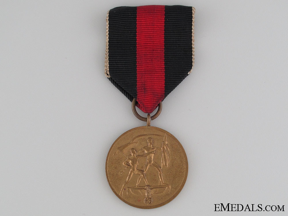 Medal to Commemorate 1 October 1938, Boxed