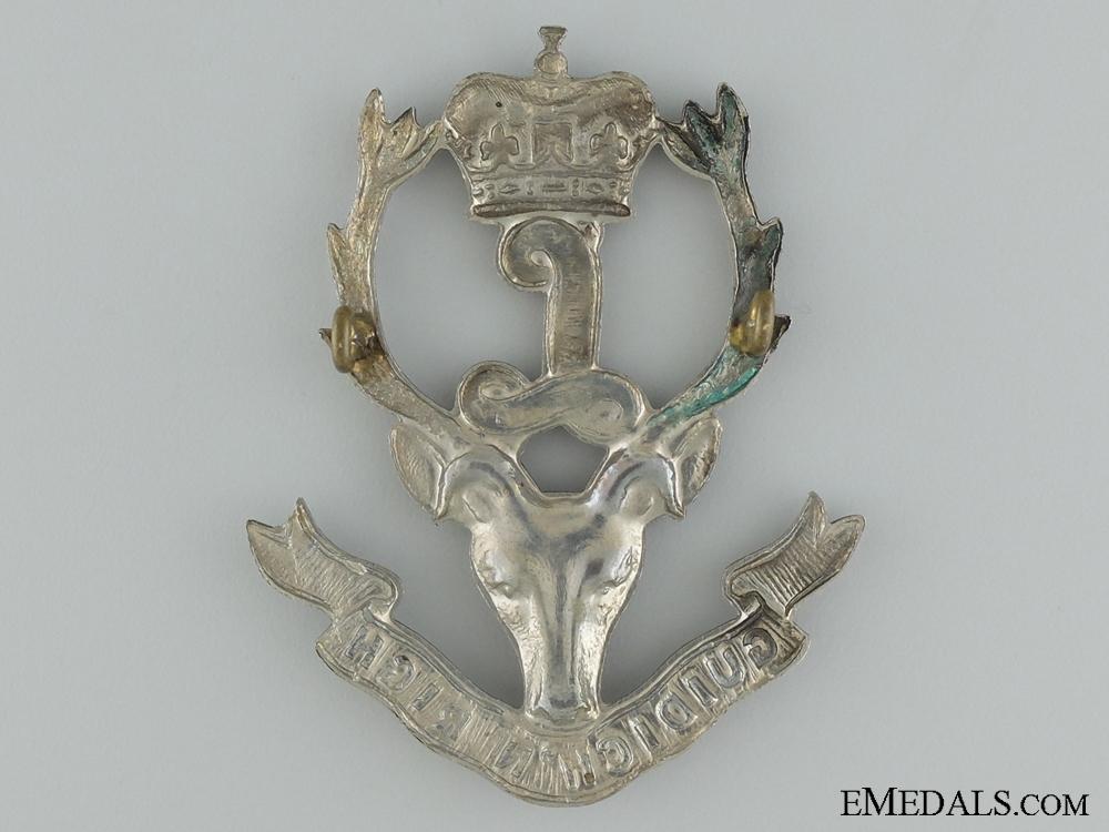 An Interwar Seaforth Highlanders of Canada Glengarry Badge