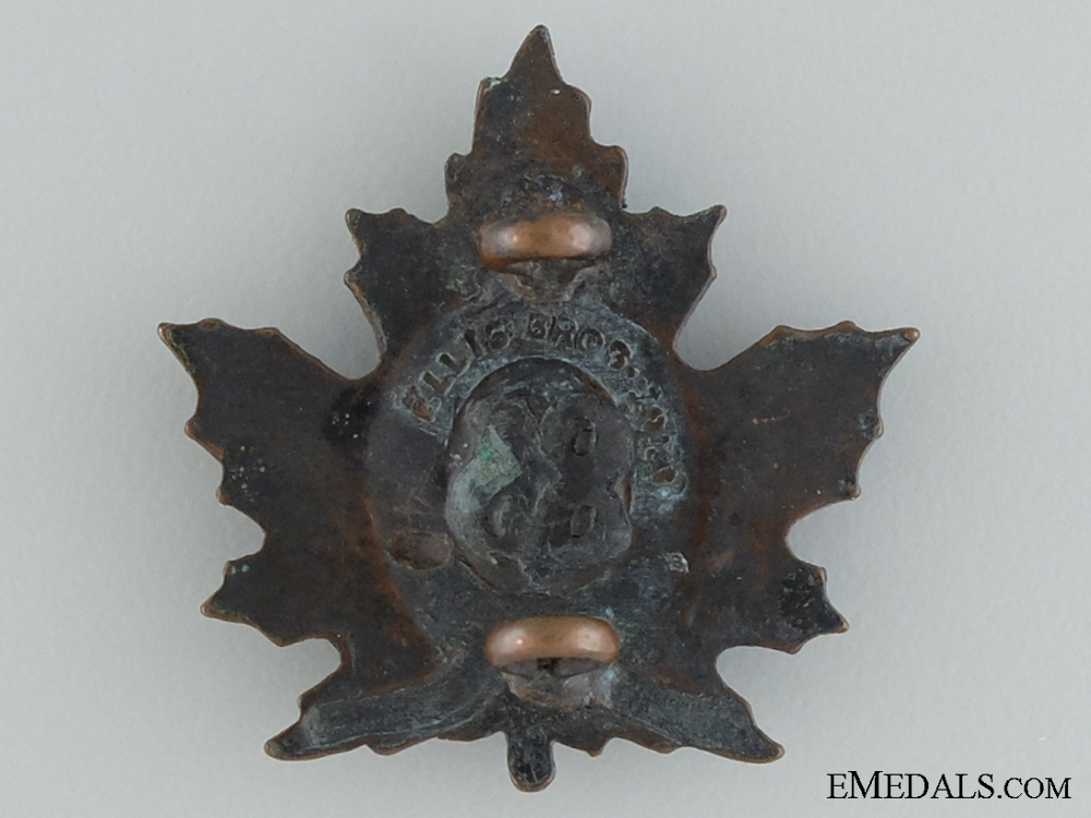 WWI 83rd Infantry Battalion Collar Badge
