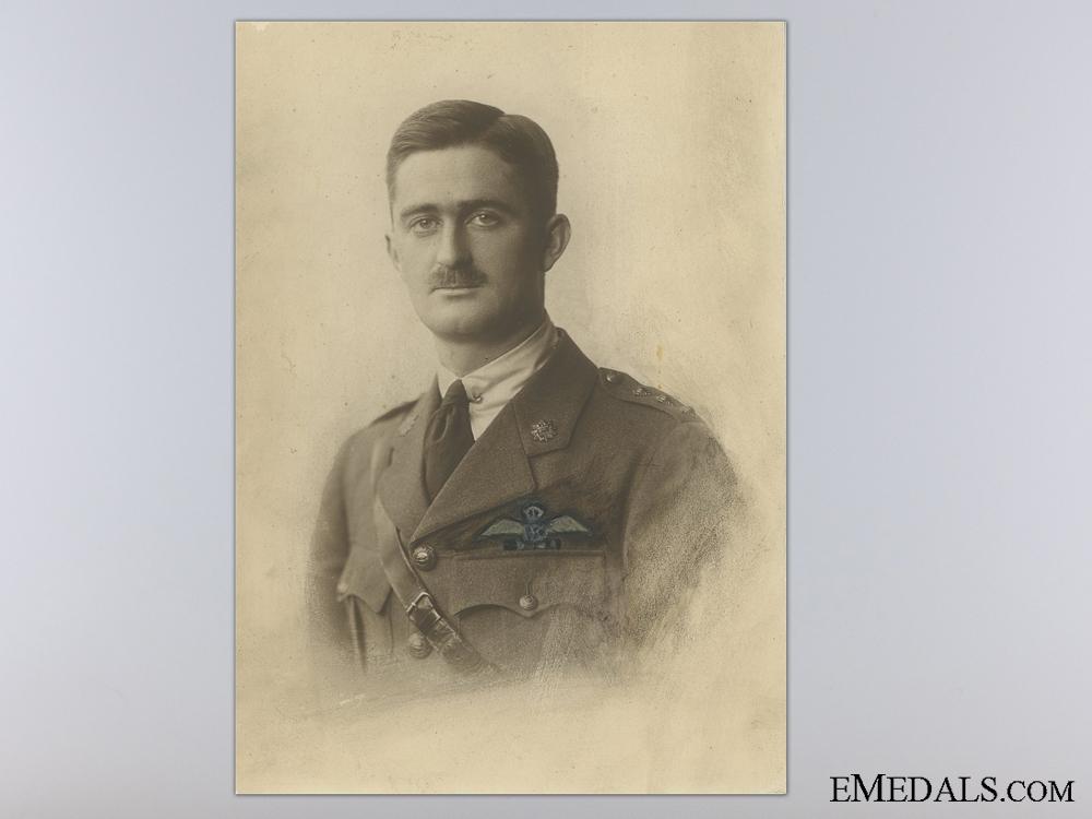 A First War Pair to Pilot Weller; Shot Down Over Vlamertinghe
