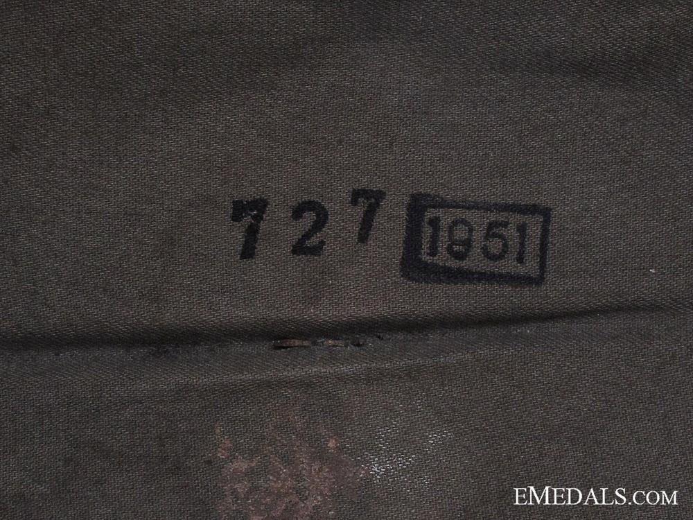 Protectorate of Bohemia & Moravia Felt Police Helmet