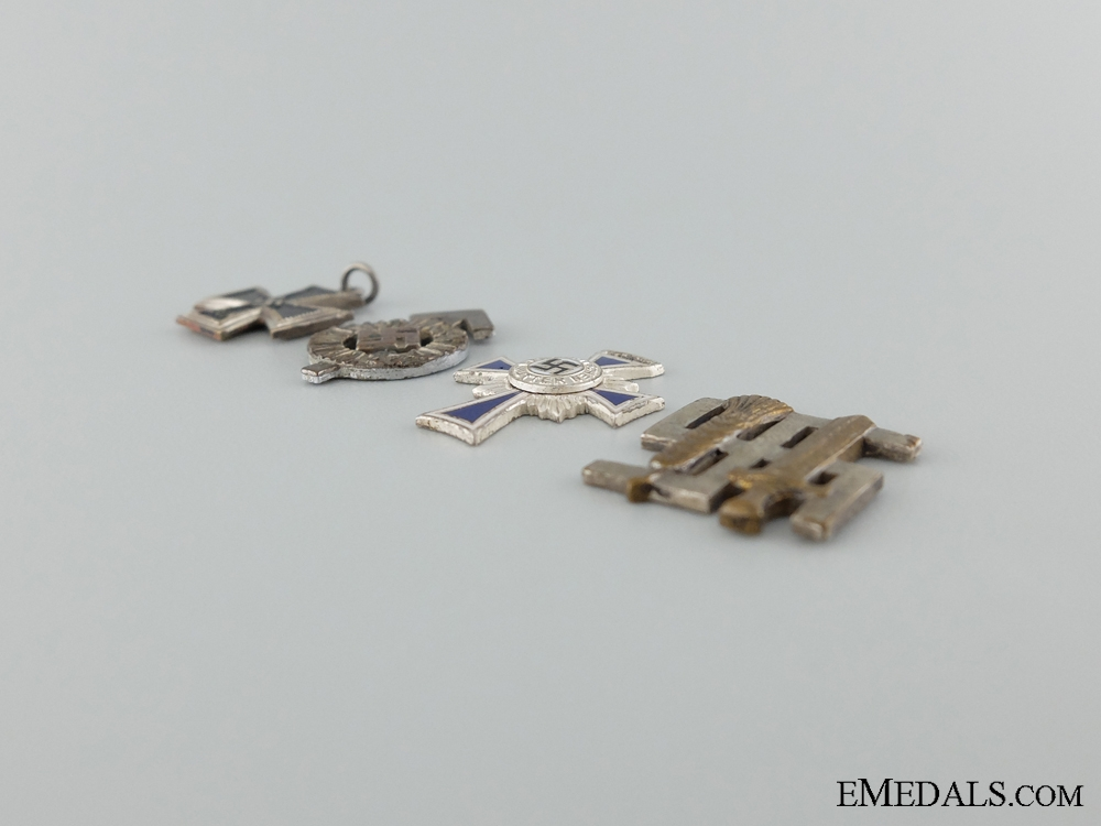 Four Third Reich Miniature Awards