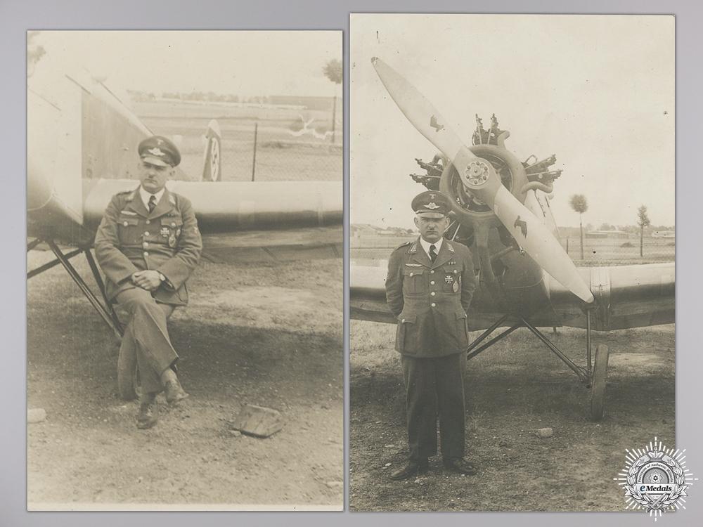 A Fine First War German Naval Aviators Grouping