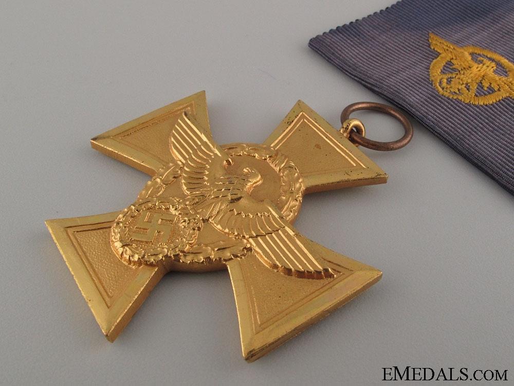 Police Long Service Award 25 Years