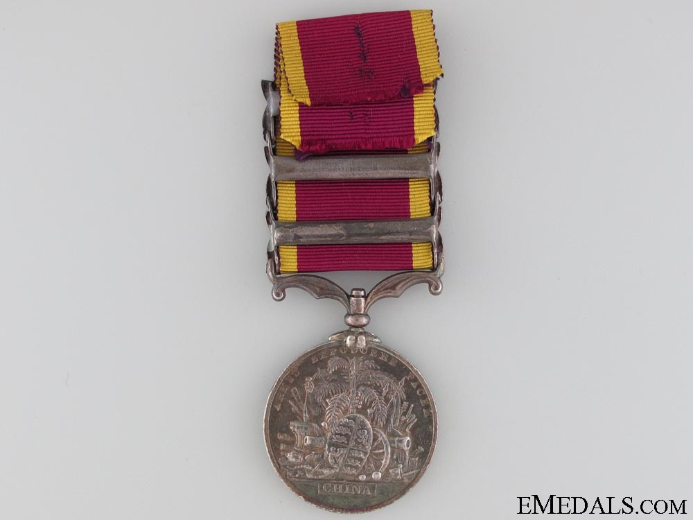 Second China War Medal 1857-1860, Un-named