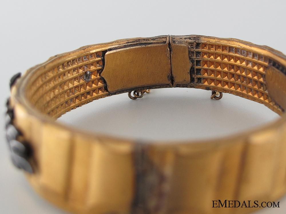 WWI German Patriotic Iron Cross Bracelet