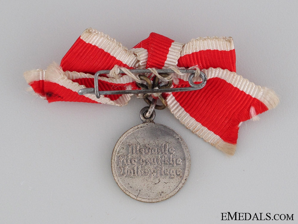 German Social Welfare Medal, Women's Miniature