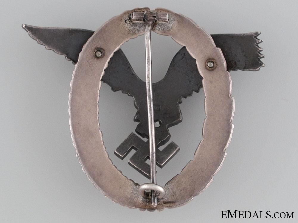 """Pilot's Badge by Rare """"OM"""" Maker"""