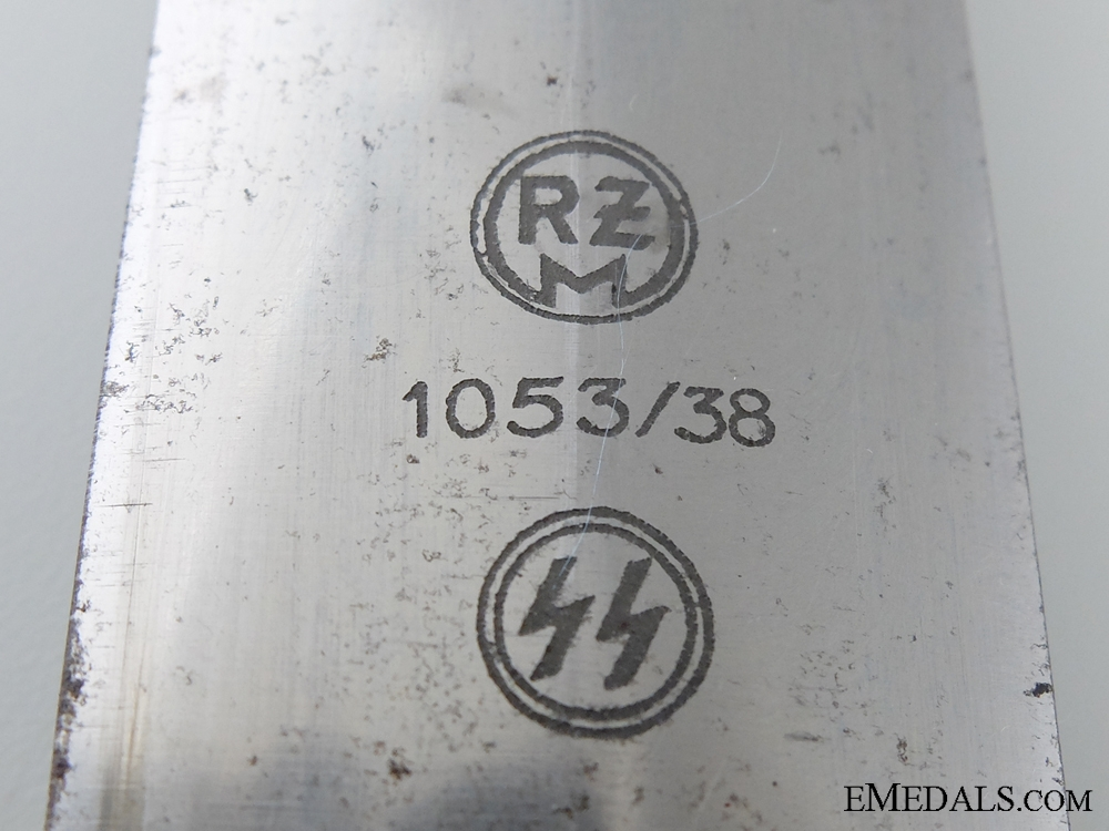 An RZM SS Dagger by Weyersberg, Kirschbaum & Co.