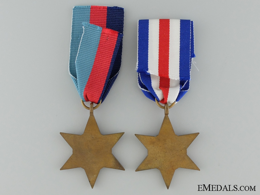 Two Second War Campaign Stars
