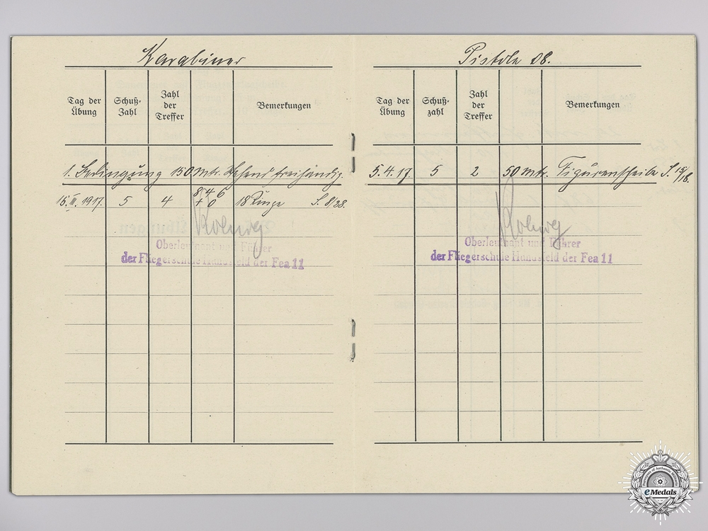 A WWI Honor Goblet Document Group to the 24th Figther Squadron