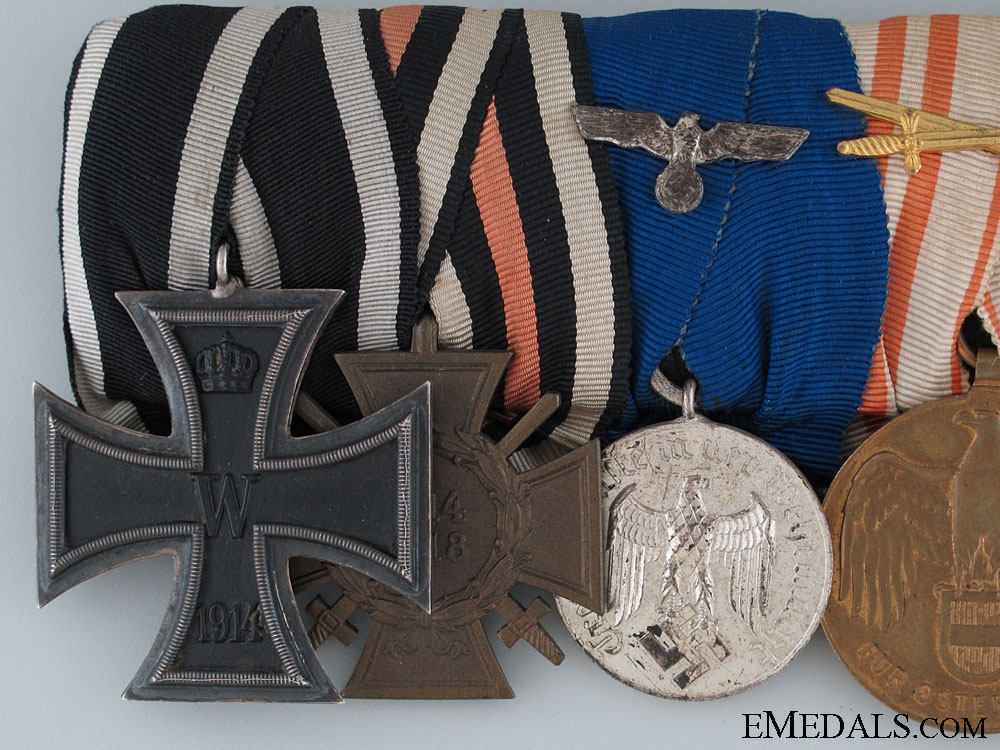 A First War Veterans Medal Bar
