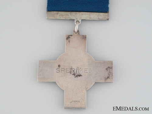 George Cross; a Silver Specimen
