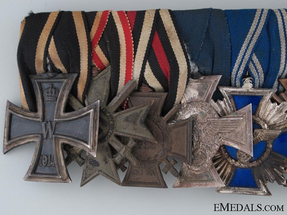 A German Civic & Political Medal Bar