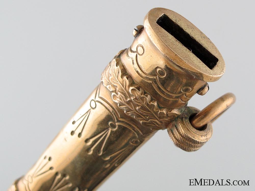 Naval Officer's Dagger by Carl Eickhorn Solingen