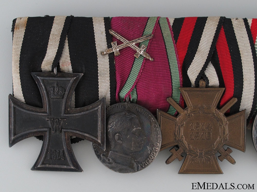 A WWI Saxe-Coburg-Gotha Medal Bar