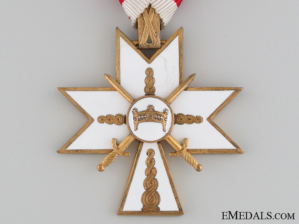 Order of King Zvonimir's Crown with Swords