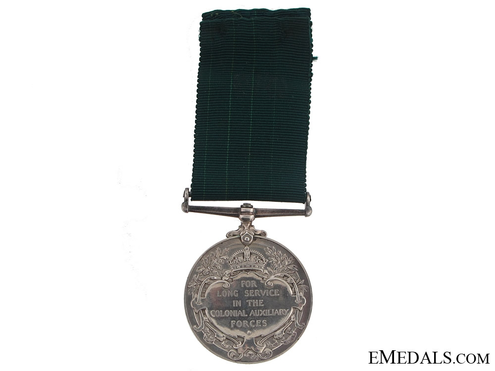 Colonial Auxilliary Forces Long Service Medal - 75th Infantry Regiment